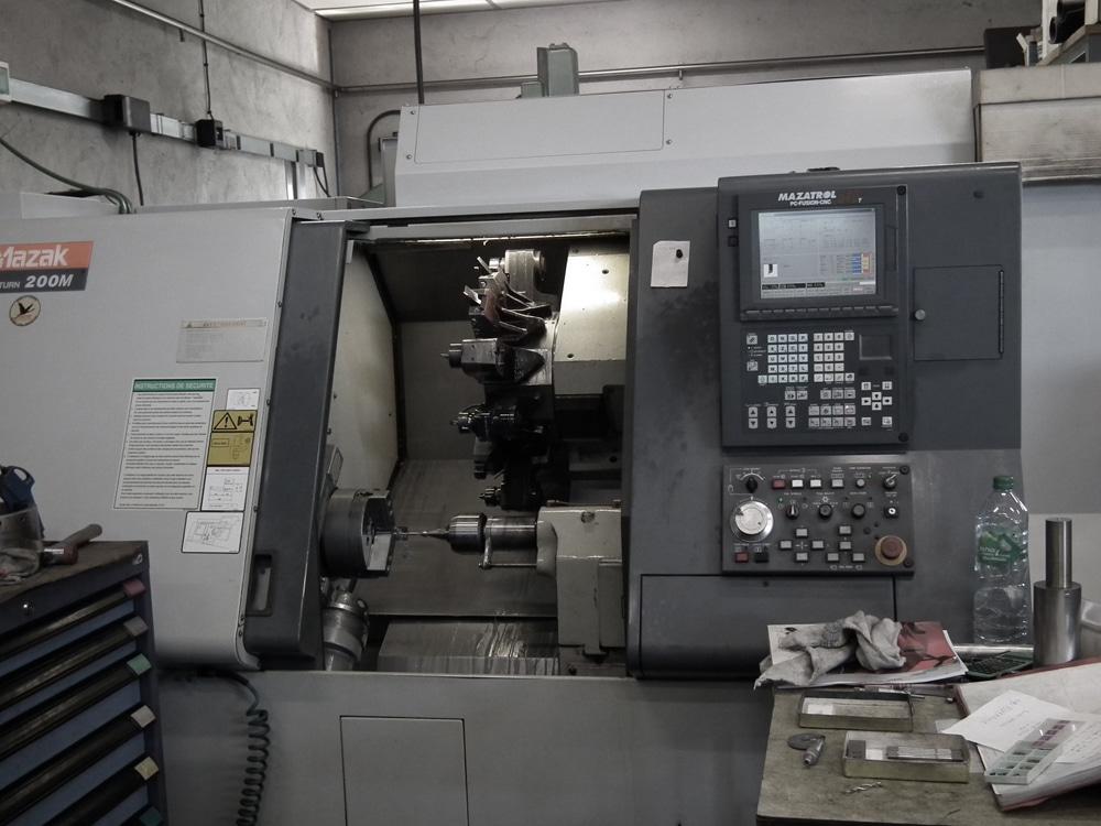 Ets DUBREUCQ mécanique générale fraisage tournage rectification précision parachevement soudage Mazak 200M