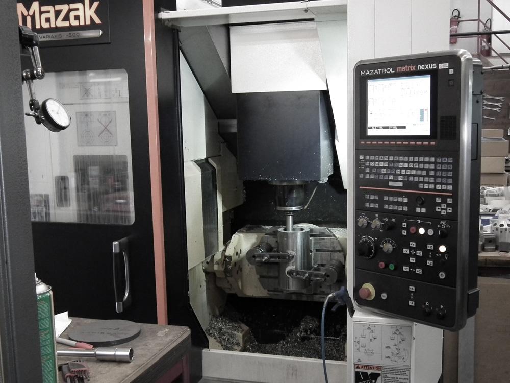 Ets DUBREUCQ mécanique générale fraisage tournage rectification précision parachevement soudage Mazak