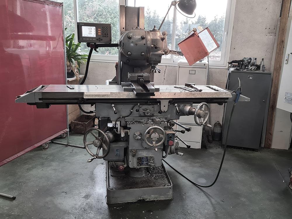 Ets DUBREUCQ mécanique générale fraisage tournage rectification FRAISEUSE CONVENTIONNELLE 2