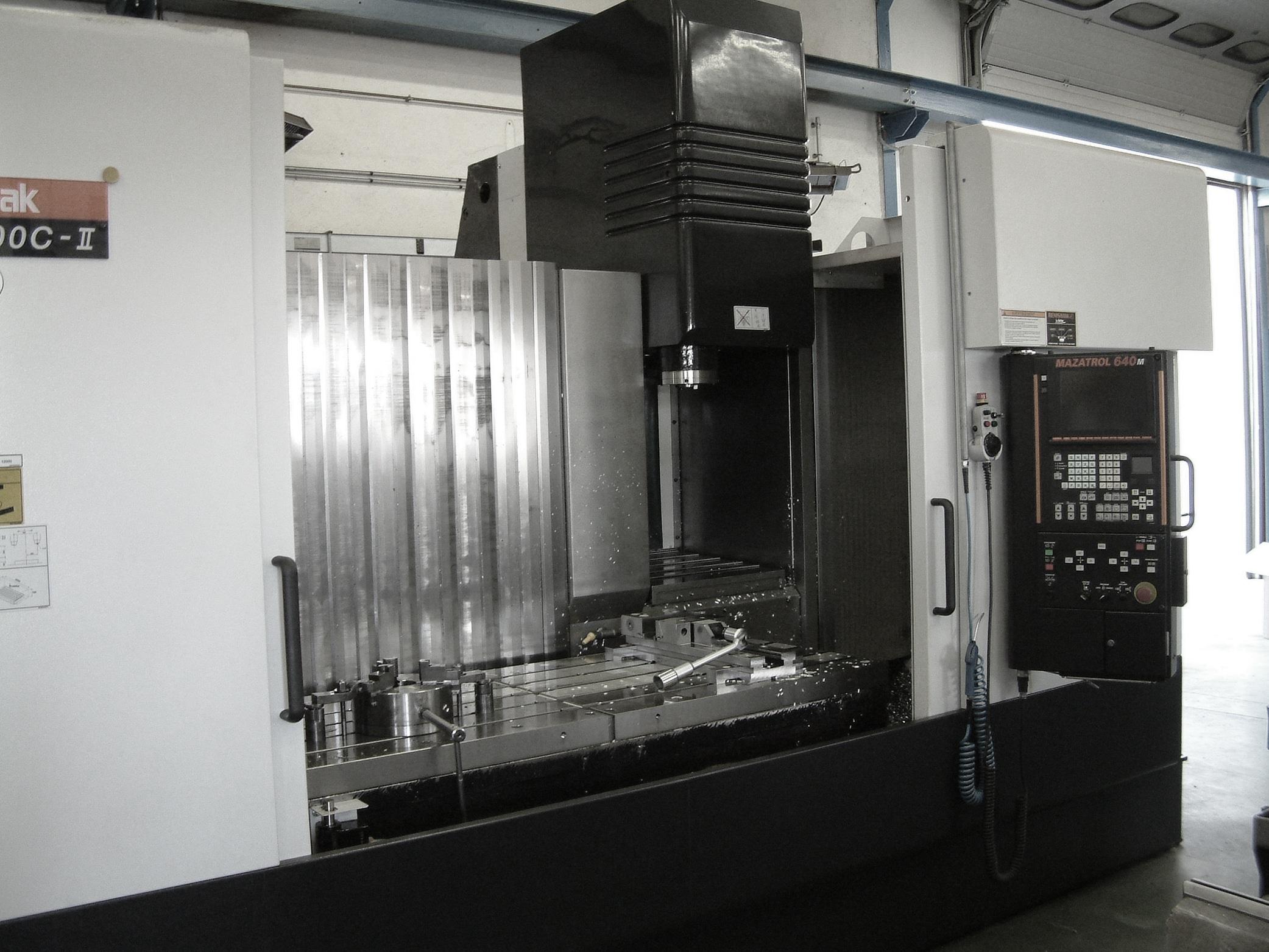 Ets DUBREUCQ mécanique générale fraisage tournage rectification précision parachevement soudage Mazak VTC 300 C II