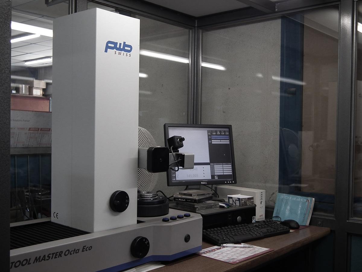 Ets DUBREUCQ mécanique générale fraisage tournage rectification précision parachevement soudage informatique banc de prereglages